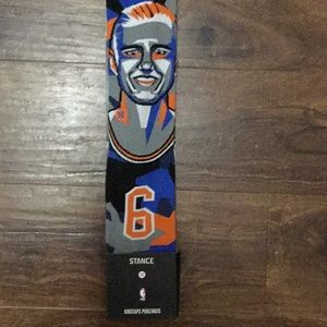 Brand new NBA stance socks size Large